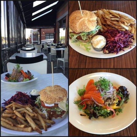 Saint-Jean-sur-Richelieu, แคนาดา: Pulled pork and Duck salad