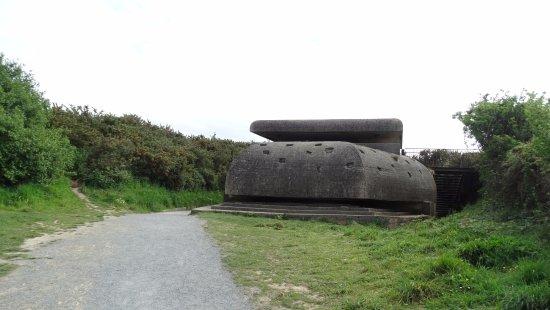 Batterie de Longues : Bunker bij het strand