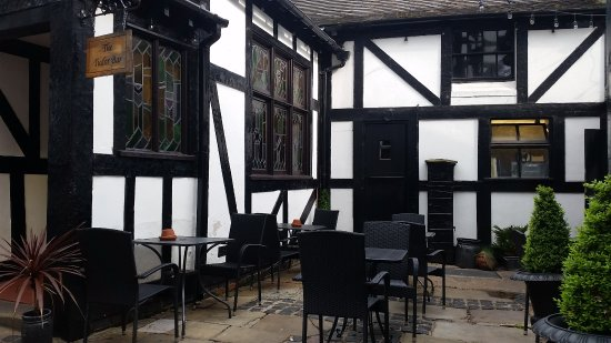 The Old Bell Hotel: Seating area to the rear
