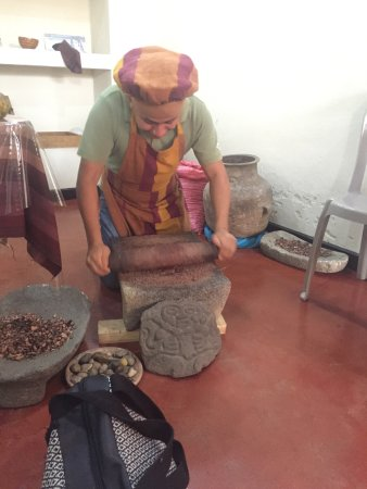 Santa Catarina Palopo, Guatemala: Pounding Cacao Shells