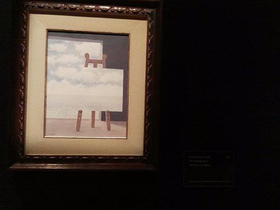 Musee Magritte Museum - Royal Museums of Fine Arts of Belgium: lienzo en el lienzo