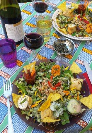 Ceret, فرنسا: Assiette végétarienne
