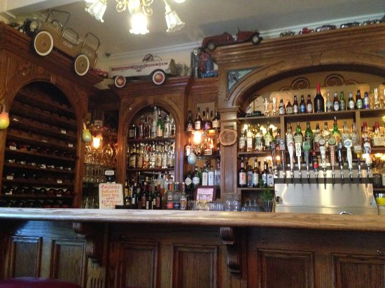 Jamestown, Kalifornien: The bar with a fine selection