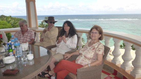 Anse Royale, Seychelles: Balcon
