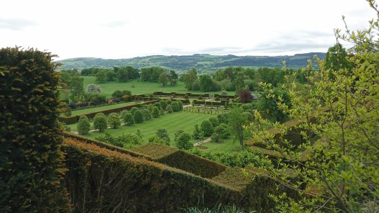 Powis Castle and Garden: The View