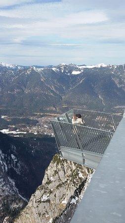 Garmisch-Partenkirchen Ski Resort: und noch einmal irgendwie mitten in der Luft