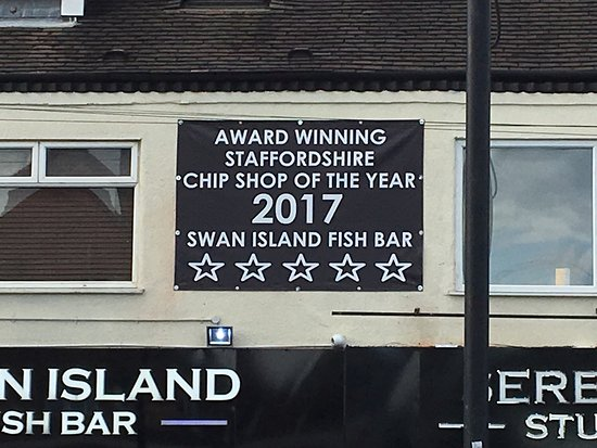 Burntwood, UK: Best chip shop in Burtwood!