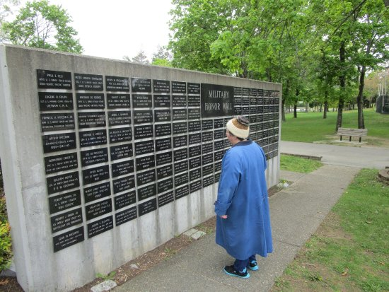 Johnston War Memorial Park: People that served in the military that lost their life.