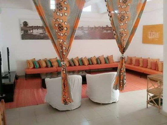 Yoff, Senegal: Salon