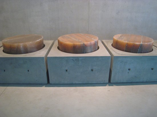 Salt Cylinders In Concrete Symbolic Picture Of Mocak Museum Of