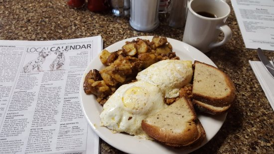 Deep River, CT: Corned Beef Hash