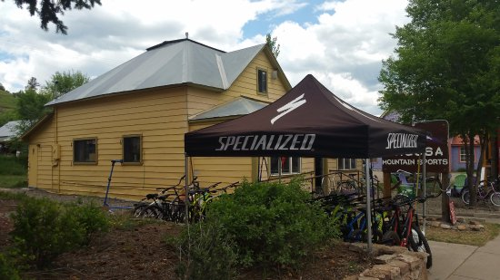 Pagosa Springs, Колорадо: Pagosa Mountain Sports building, easily accessible.