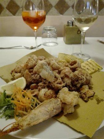 Al Cavallino: Friture de la mer