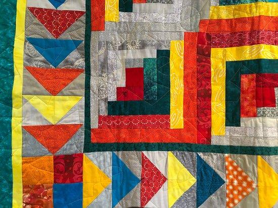 Wellesley, MA: Quilt by Liz Foss