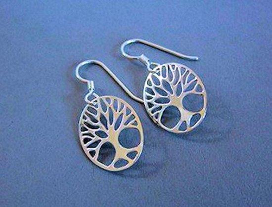 Wellesley, MA: Tree of Life earrings by Marcia Dean