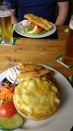 Kelso, UK: Great macaroni and cheese