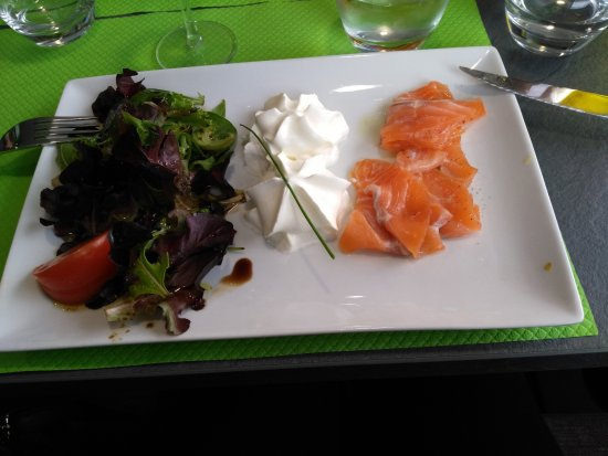 Saint-Rambert-d'Albon, France: Excellent gravlax !