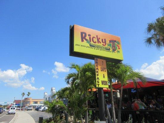 Great Breakfast Menu Review Of Ricky Ts Treasure Island Fl