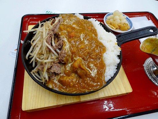 Yoro-cho, Japan: 飛騨牛カレー(^∇^)