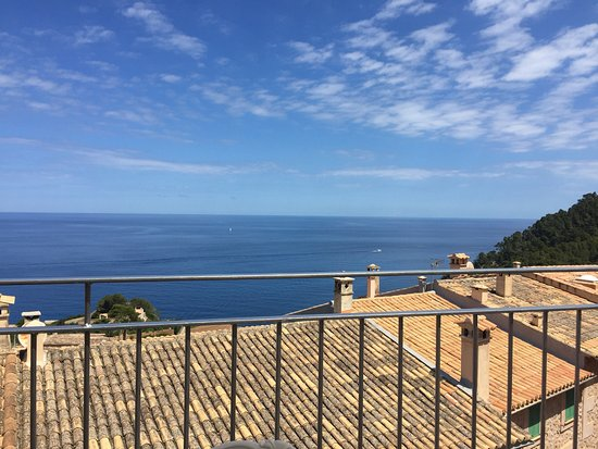 Banyalbufar, Spania: fantastic view from the terrace