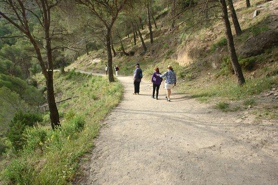El Chorro, İspanya: Uno de los senderos del camino