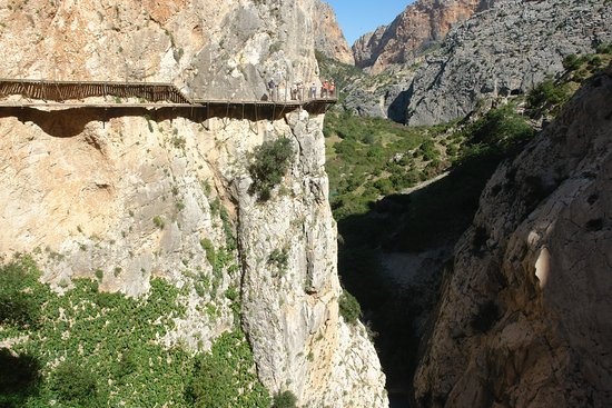 El Chorro, Spania: Pasarela