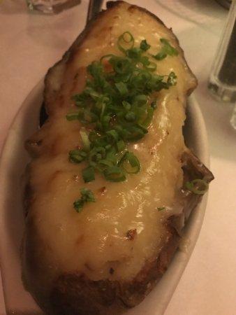 Shula's Steak House: twice bake potato