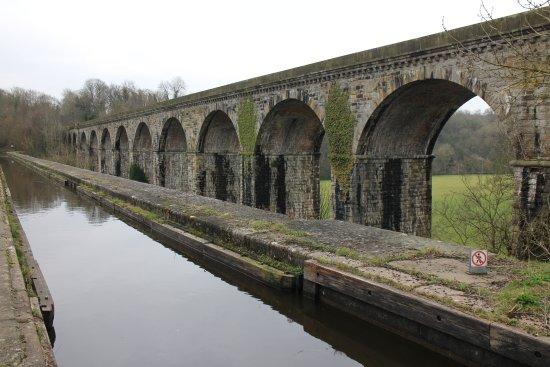 Llangollen Canal and Chirk Aqueduct