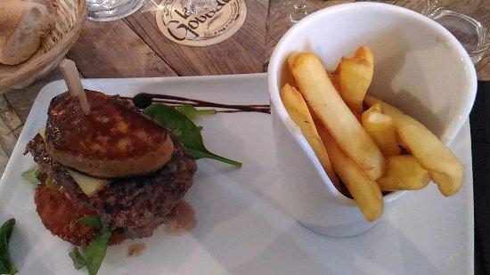 Soissons, Fransa: Hamburger BàO à déguster avec son foie gras