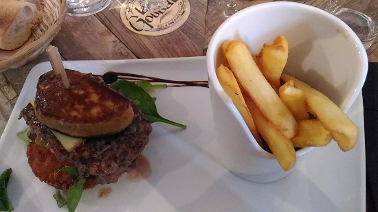Soissons, Francia: Hamburger BàO à déguster avec son foie gras