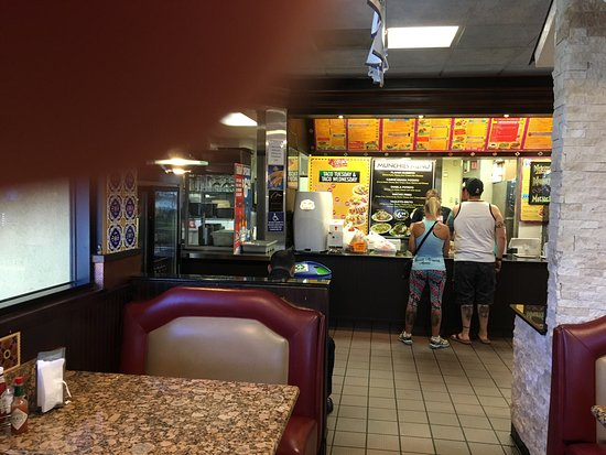 Murrieta, CA: Cotijas not your typical fast food or Mexican taco stand. Clean good menu, plenty of seats, tv's