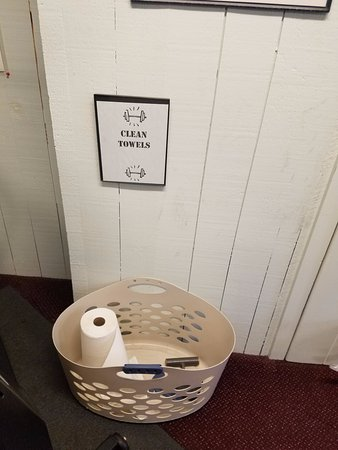 Waterville Valley, NH: Clean Towels = Paper Towel