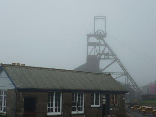 Pendeen, UK: misty view