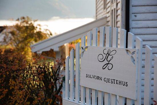 Solvorn, Norway: side gate