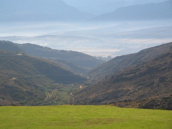 Citrusdal, Sydafrika: Mountain views from our chalet