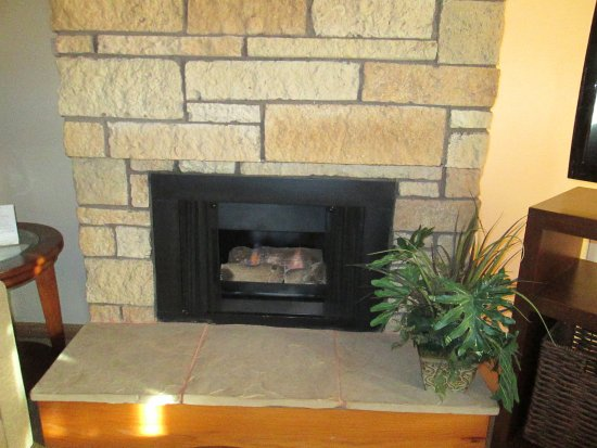 gas fireplace picture of harbortown point ventura