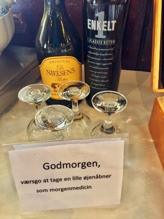 Hotel Ærø: In need of a sharpener at breakfast?