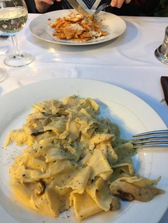 La Villetta: great pasta!