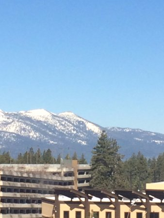 Stateline, NV: This is the awesome view from our room!