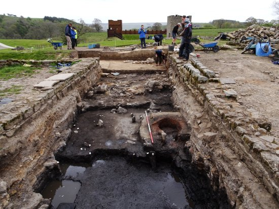 Hexham, UK: Ongoing excavations at Vindolanda