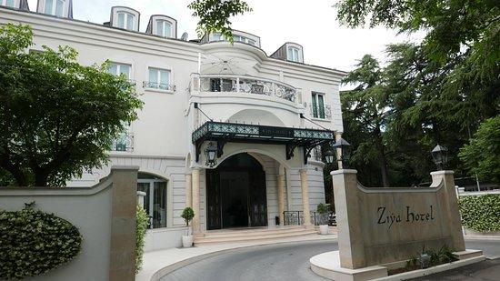 Hotel Ziya : Entrance to the hotel