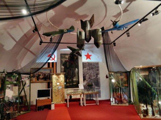 Pereslavl-Zalessky, روسيا: Залы краеведческой части музея