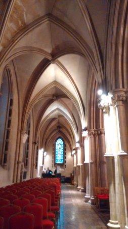 Christ Church Cathedral: As cadeiras nas laterais.