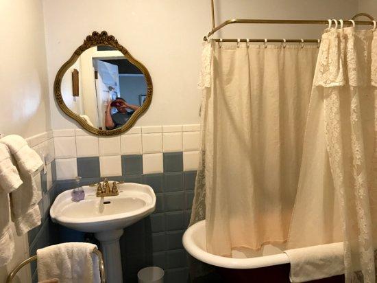 Bottger Mansion of Old Town: Cool bathroom
