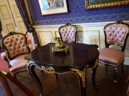 Gödöllő, Magyarország: Sissy's sitting room