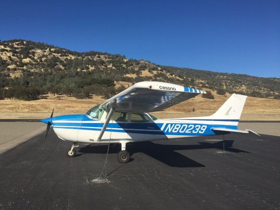 Mariposa, CA: N80239, a 1976 Cessna 172M used for our Photo Missions and Flight Training