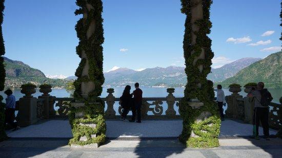 Villa del Balbianello: La terrazza usata normalmente per matrimoni..