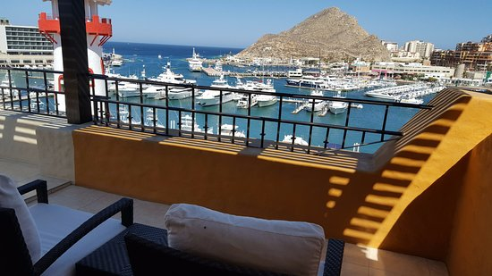 Tesoro Los Cabos: Balcony and view alone makes this place one of the best deals in town.