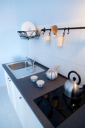 Cucina con 2 fornelli ad induzione - Foto di Villa Palici ...
