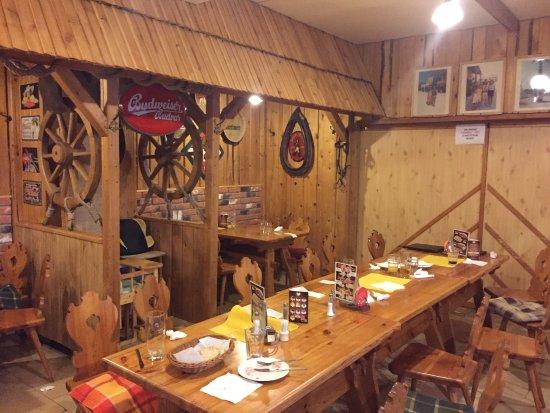 Liptovsky Mikulas, Slowakije: המסעדה